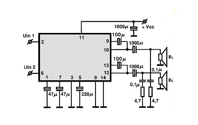 Audio Ics likewise Audio Ics additionally Fm Receiver Antenna  lifier also Class Ab  lifier Circuit Diagram together with Transistor Npn. on rf power amplifier schematic
